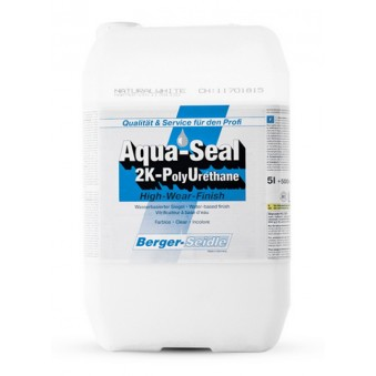 Лак Berger Aqua-Seal 2K-PU Natural White (1.65 л)