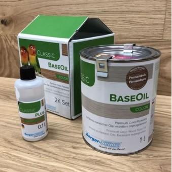 Двухкомпонентное цветное масло Berger BaseOil Color 2K (1.1 л)