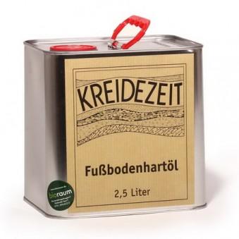 Масло для пола и стен Kreidezeit Fusbodenhartol (2.5 л)
