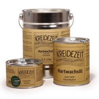 Масло с твердым воском Kreidezeit Hartwachsol (2.5 л)