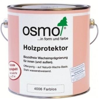 Водоотталкивающая пропитка Osmo Holzprotector (0.75 л)