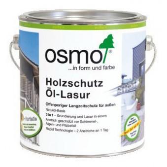 Цветное масло-лазурь Osmo Holzschutz Ol-Lasur Effekt (25 л)
