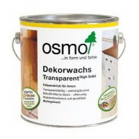 Цветное масло Osmo Dekorwachs Transparent(0.75л)