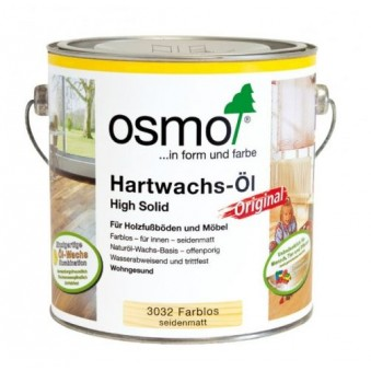 Масло с твердым воском Osmo Hartwachs-Ol (25 л)