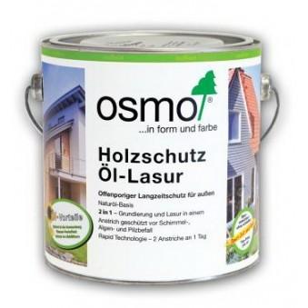 Цветное масло-лазурь Osmo Holzschutz Ol-Lasur (2.5 л)