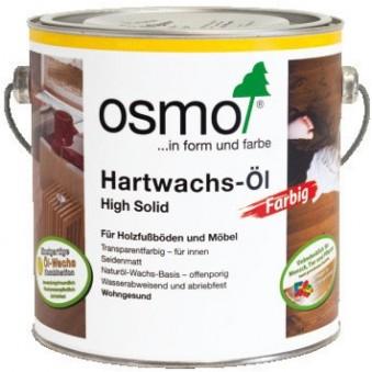 Цветное масло Osmo Hartwachs-Ol Farbig (2.5 л)