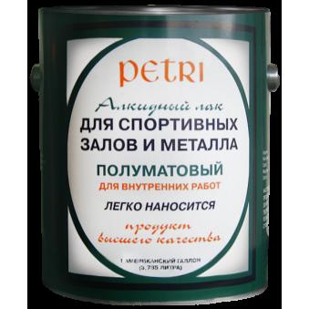 Лак Petri Spar Gym (9.46 л)
