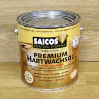 Масло с твердым воском Saicos Hartwachsol Premium (2.5 л)
