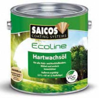 Масло с твердым воском Saicos Ecoline Hartwachsol (2.5 л)