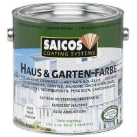 Краска Saicos Haus&Garten-Farbe (2.5 л)