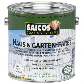 Краска Saicos Haus&Garten-Farbe (10 л)