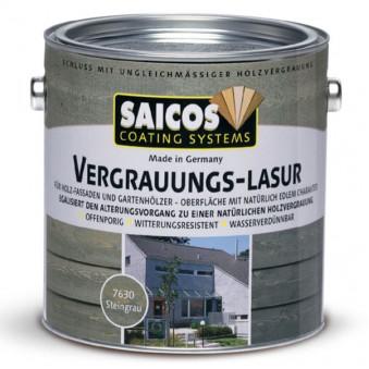 Лазурь Saicos Vergrauungs-Lasur (2.5 л)
