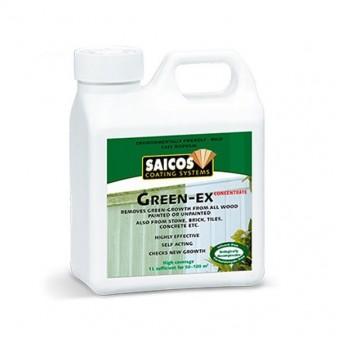 Концентрат для удаления зеленого налета Saicos Green-Ex (1 л)
