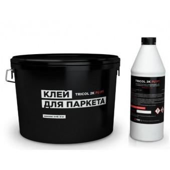 Паркетный клей Tricol 2K PU PT (9 кг)